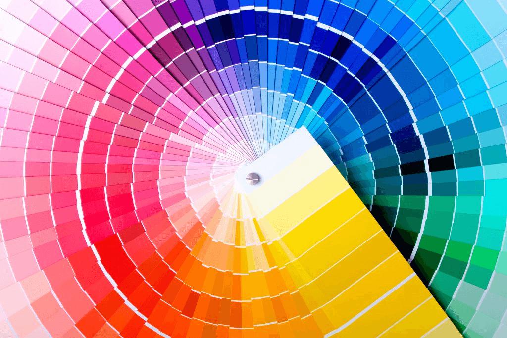 رنگ در طراحی اپلیکیشن
