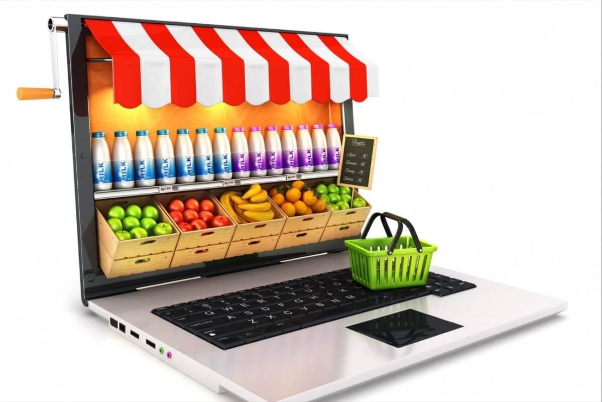 طراحی اپلیکیشن سوپرمارکت آنلاین